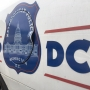 Vehicle crashes into D.C. police cruiser, 2 officers transported to hospital