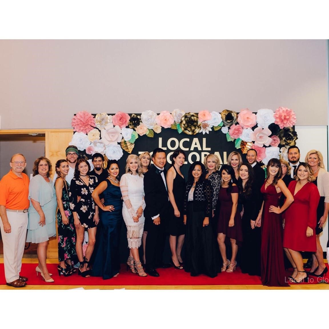 The Local to Global Gala focused on raising awareness and funds to work against human sex trafficking.