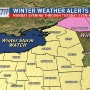 Winter Storm ALERTS for Late Monday/Tuesday