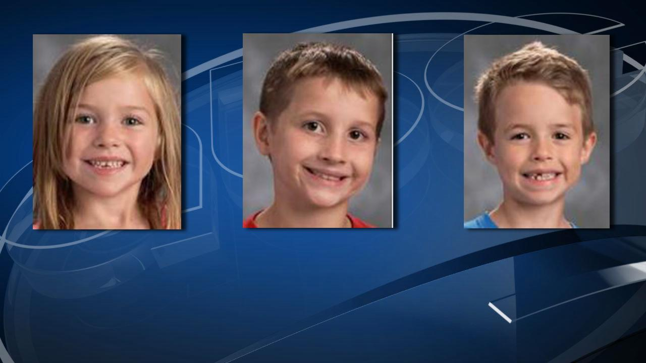 ALEA has issued a missing child alert for 5-year-old Katelyn Maria Kitchen, 8-year-old Darren Marcus Cribbs and 7-year-old Timonthy Gene Kitchens. (ALEA)