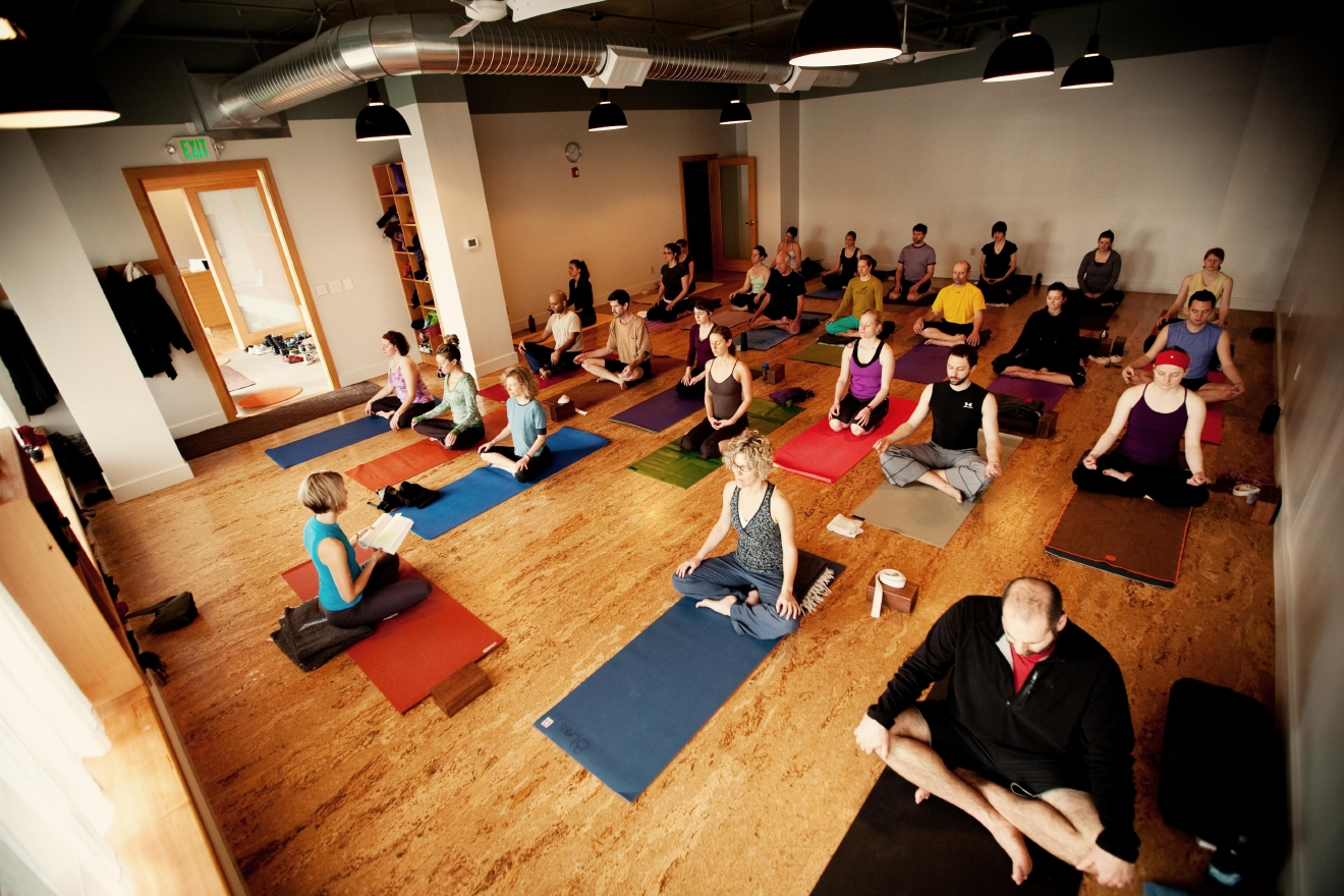 8 Limbs Yoga studio in Phinney Ridge Photo: Brooklyn Fitts