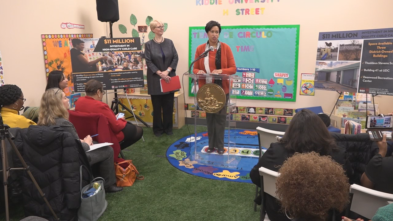 Mayor Bowser details plan for new child care centers across D.C. (ABC7)