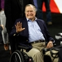 George H.W. Bush hospitalized for shortness of breath