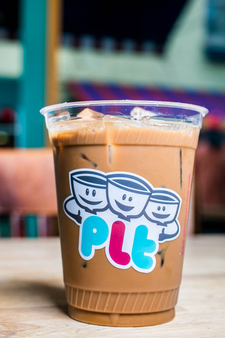 Ca Phe Sua Da: Vietnamese-style drip iced coffee with condensed milk / Image: Amy Elisabeth Spasoff // Published: 3.2.18