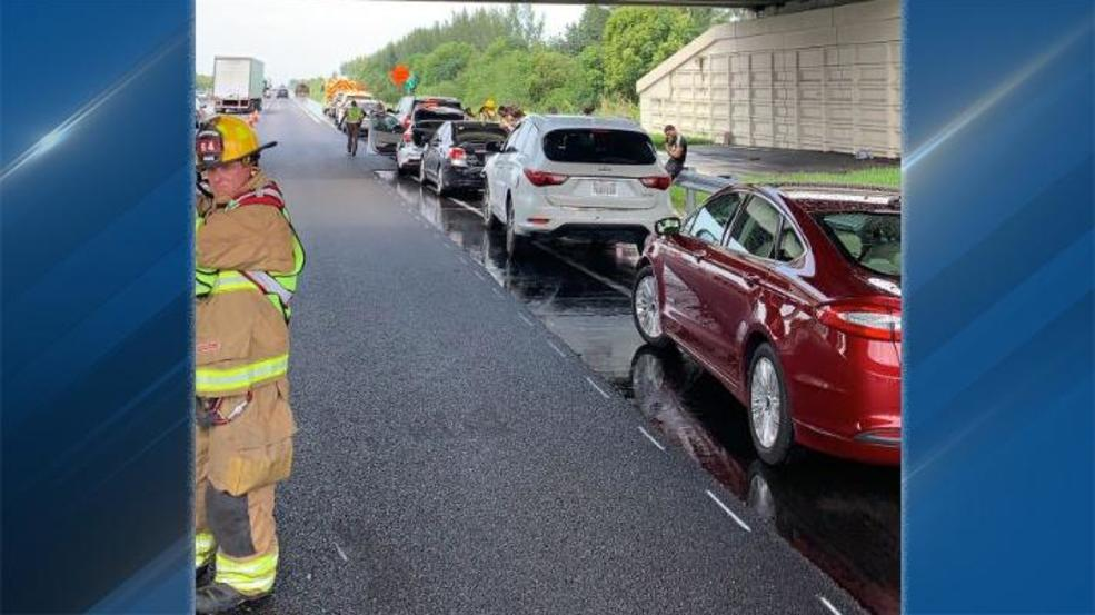 Sixcar crash snarls Florida Turnpike in Palm Beach Gardens | WTVX