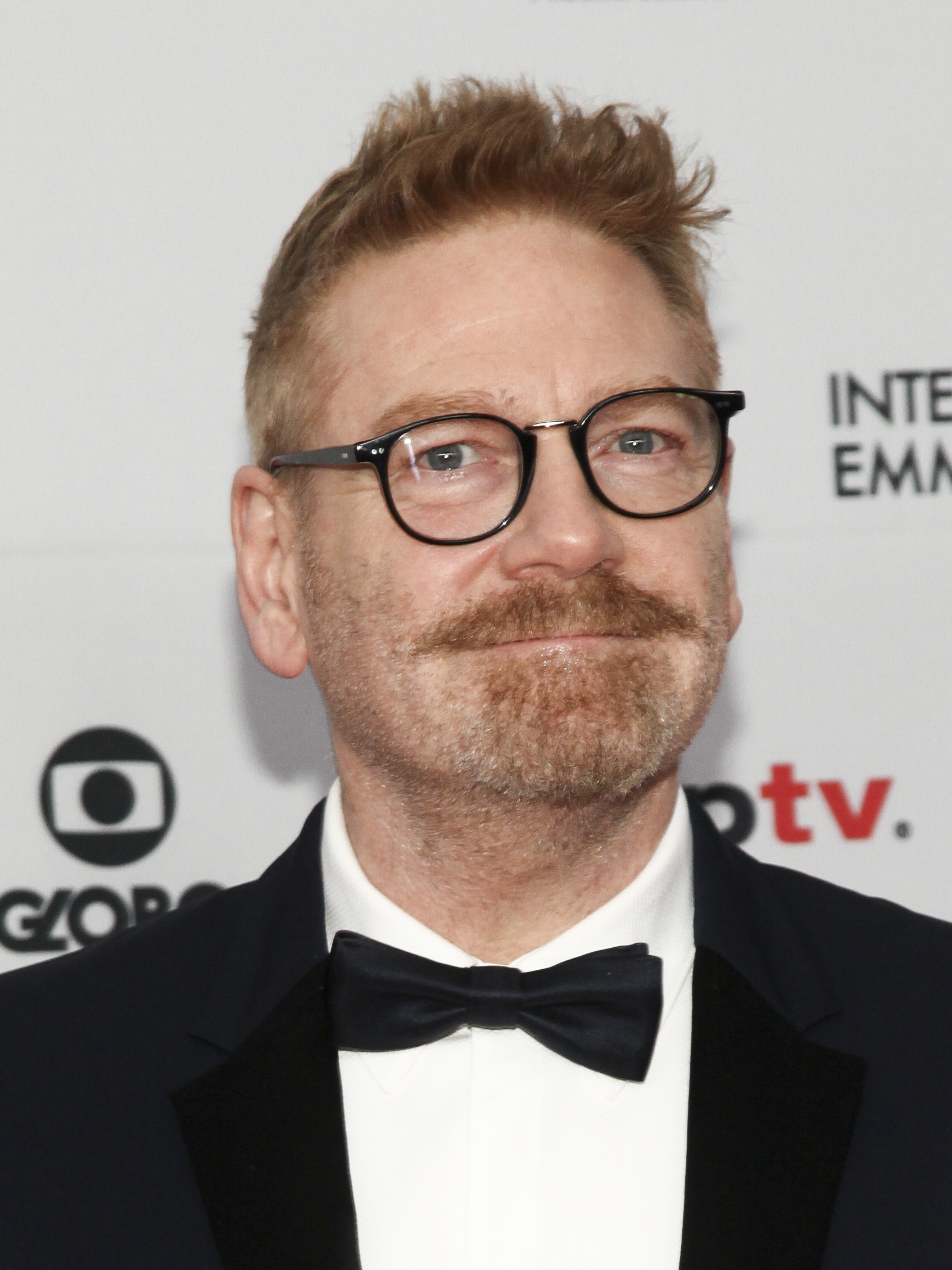 Kenneth Branagh attends the 45th International Emmy Awards at the New York Hilton on Monday, Nov. 20, 2017, in New York. (Photo by Andy Kropa/Invision/AP)