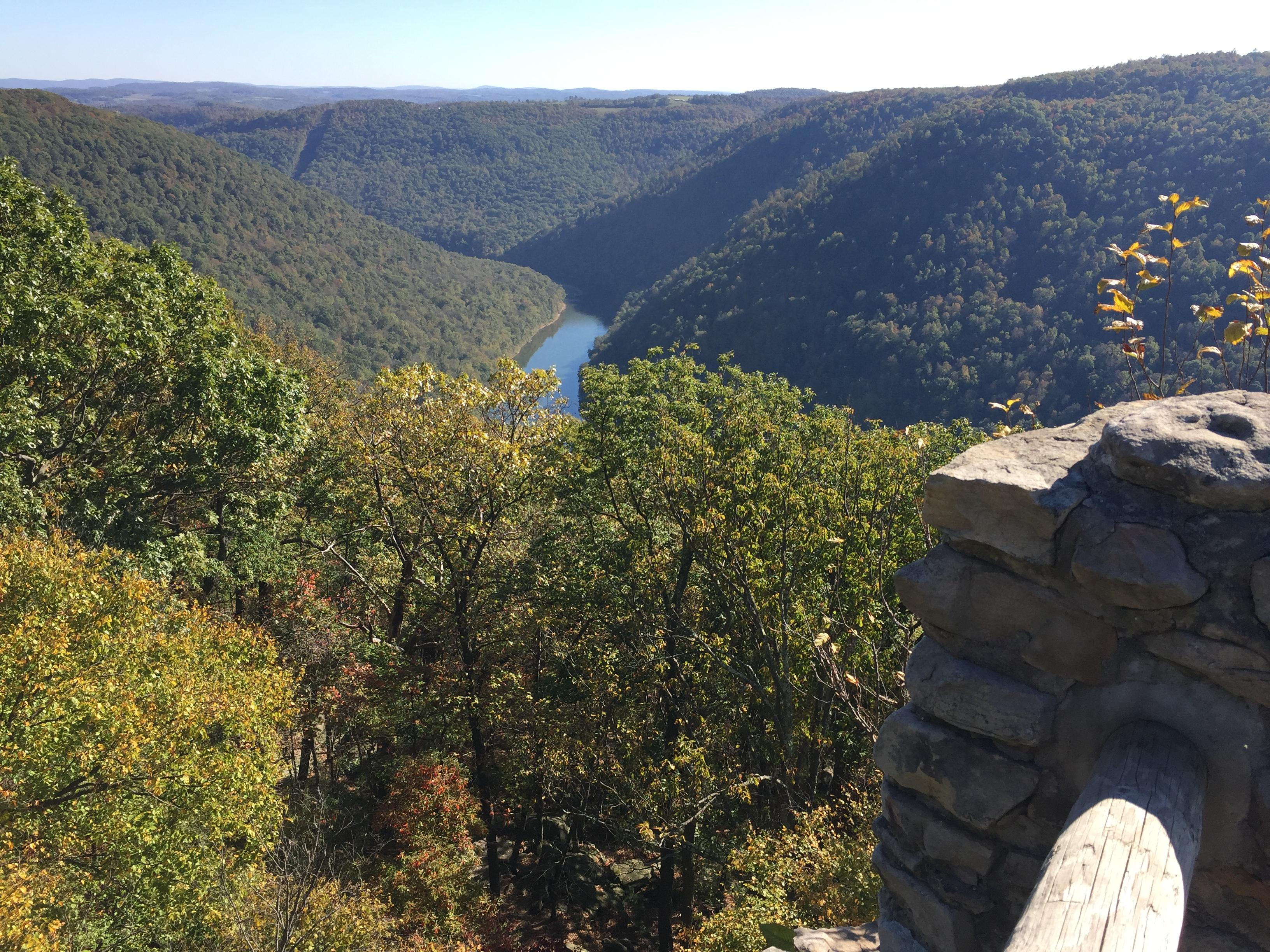 The Cheat River Canyon Preserve is now connected with Cooper's Rock State Forest for public access. (WCHS/WVAH)