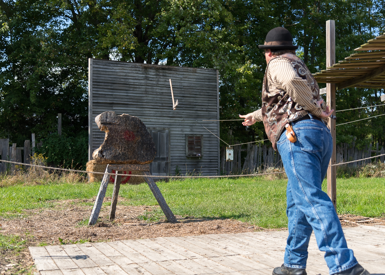 Now in its 11th year, the Old West Fest runs until October 14. The weekly event features outlaws slinging guns in the street, period-appropriate comedy shows, vaudeville acts, vendors of handmade goods, horse riding, and other unique performances inspired by 19th century America. ADDRESS: 1449 Greenbush Cobb Rd (45176) / Image: Phil Armstrong, Cincinnati Refined // Published: 10.8.18