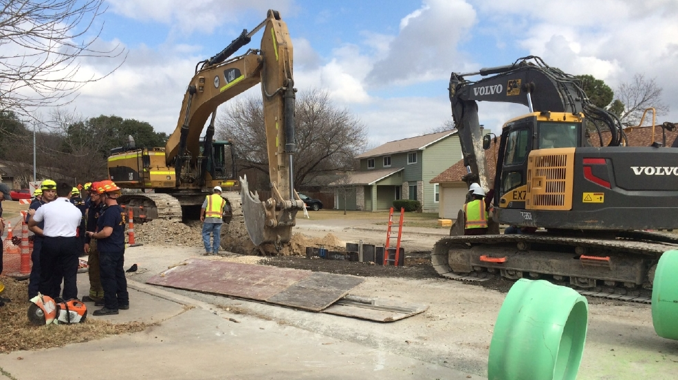 One Rescued From Nw Austin Construction Trench Keye