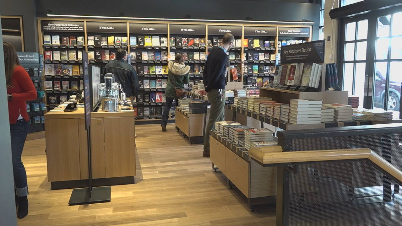 Amazon Books opens first D.C. location. (ABC7)