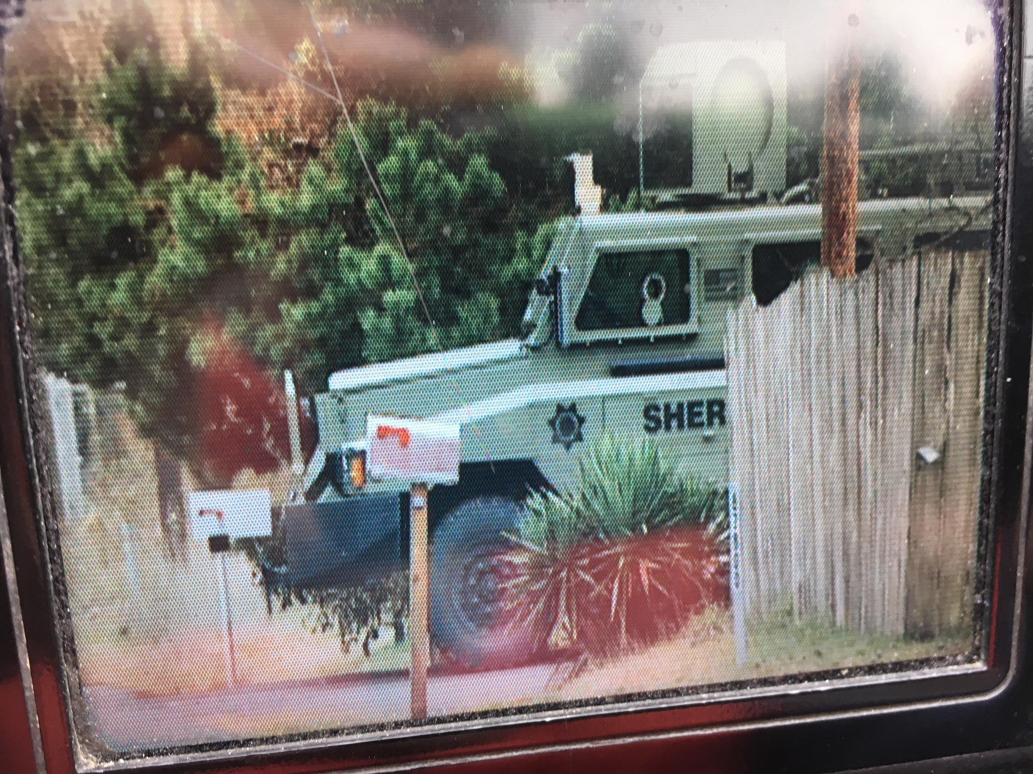 The Lane County Sheriff's Office deployed a tactical team to Veneta after a deputy spotted a wanted suspect at a home on Erdman Way just before 10 a.m. Thursday, December 28, 2017. (SBG)
