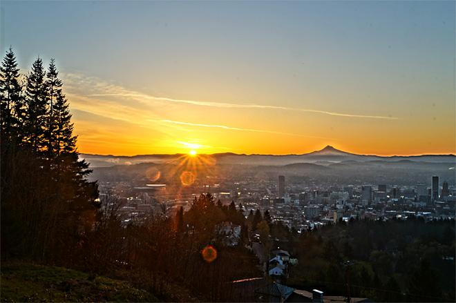 From the Pittock Mansion in Portland (Photo Courtesy YouNews contributor: BigMike58)