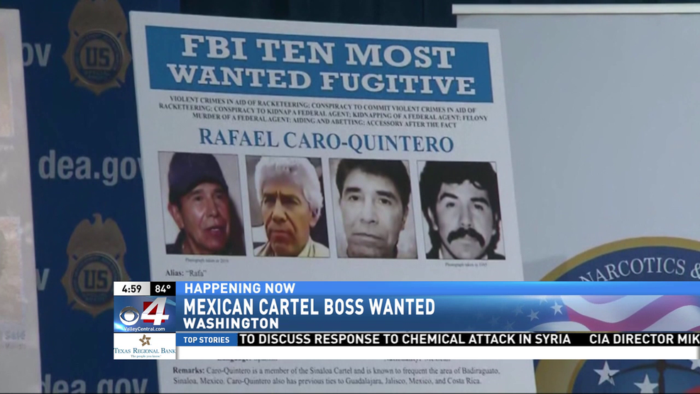 Mexican cartel boss added to FBI's most wanted list | KGBT