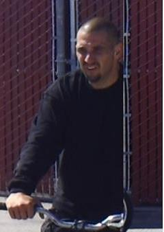 A photo provided May 16, 2017 by the Bakersfield Police Department shows a suspect in a burglary May 14 at the city's Corporation Yard off Truxtun Avenue in Bakersfield, Calif.