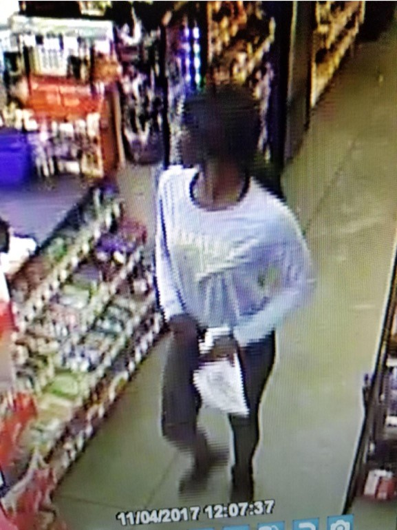 Woman sought in three Lumberton robberies