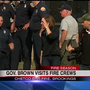 Governor Kate Brown gives press briefing regarding Chetco Fire