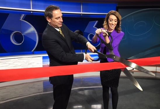 After 8 weeks of construction, the new set was unveiled on air on December 11, 2017 (WSYX/WTTE)<p></p>