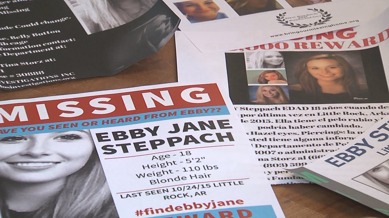 Detectives from LRPD's Major Crimes Division, along with the National Center for Missing and Exploited Children, will conduct a search the area of Chalamont Park Tuesday morning starting at 9 a.m. for Ebby Steppach. (KATV photo)