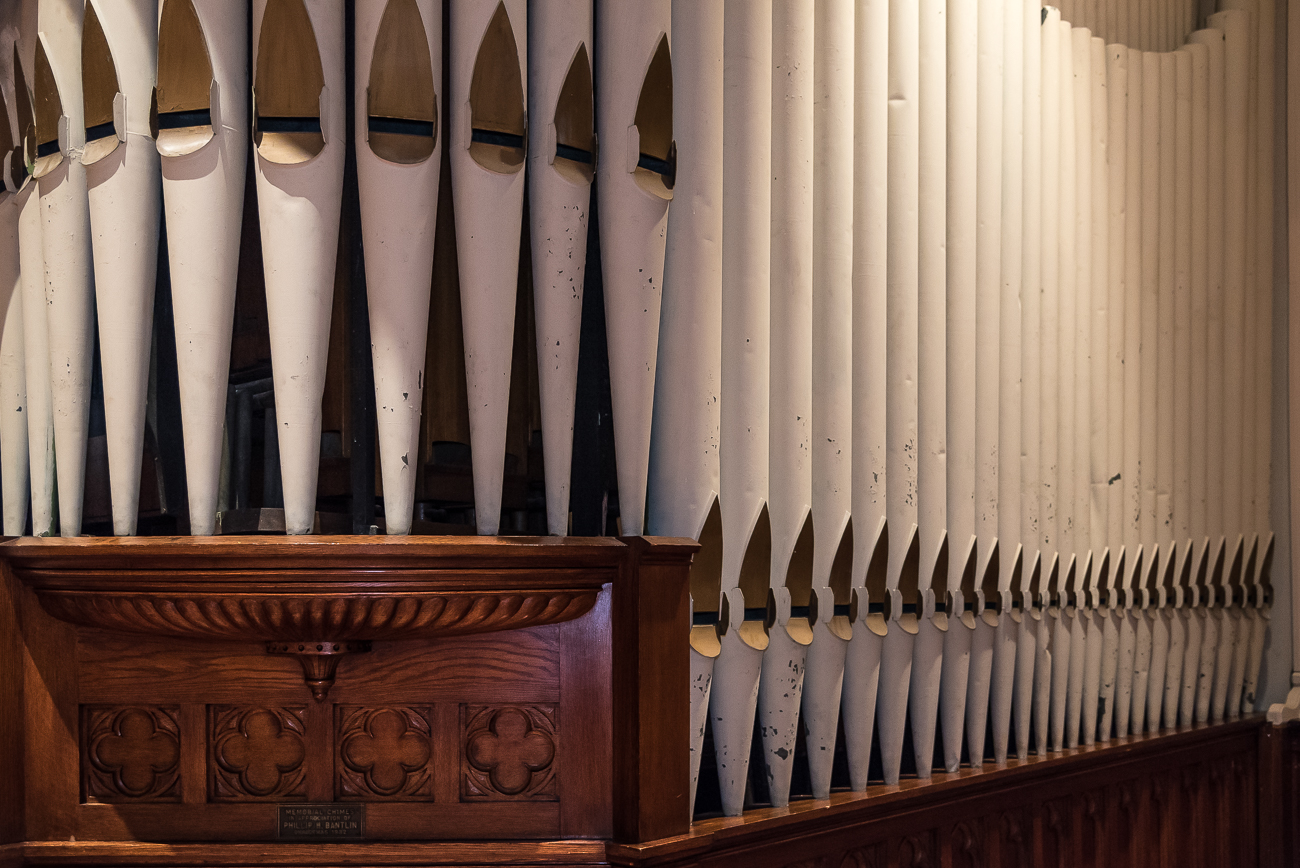The pipe organ isn't original. It was installed in the 1930s. / Image: Phil Armstrong, Cincinnati Refined // Published: 6.15.18