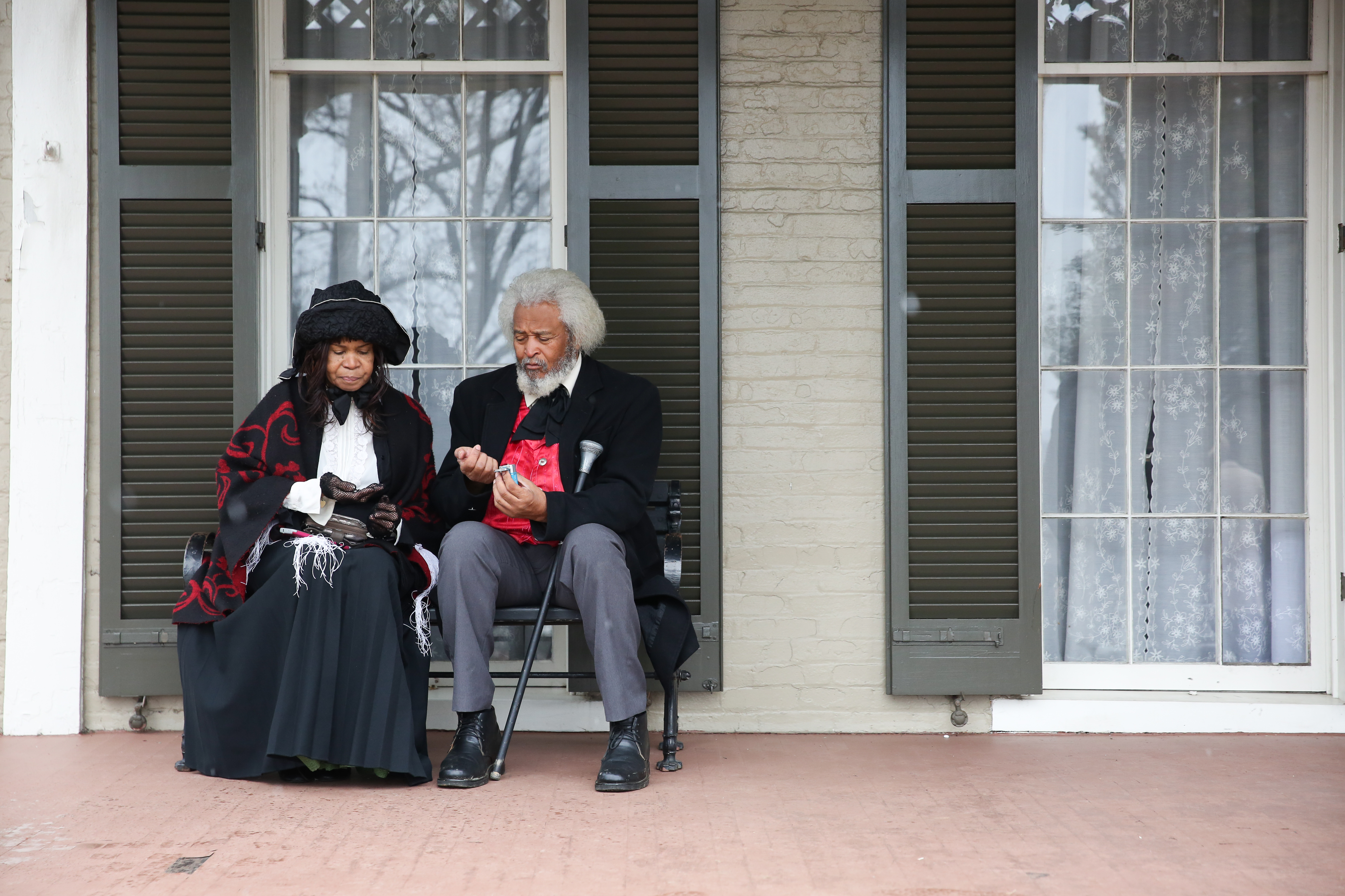 2018 marks the bicentennial of legendary abolitionist, orator and social justice advocate Frederick Douglass' birth and NPS is celebrating with a full year of programming at Cedar Hill, Douglass' home in Anacostia. The celebration kicked off this weekend with educational activities and historical impersonators of Douglass and other figures in the abolitionist movement. NPS is offering guided tours of Douglass' home throughout the year and elementary and high school students will be receiving special curriculums when they visit the site in honor of the bicentennial. (Amanda Andrade-Rhoades/DC Refined)