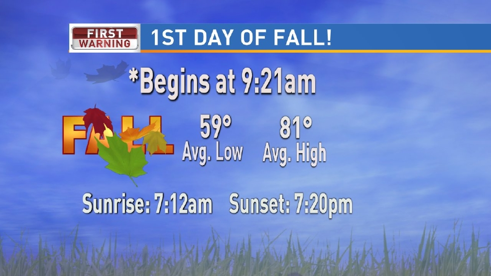 Thursday marks the first day of the fall season