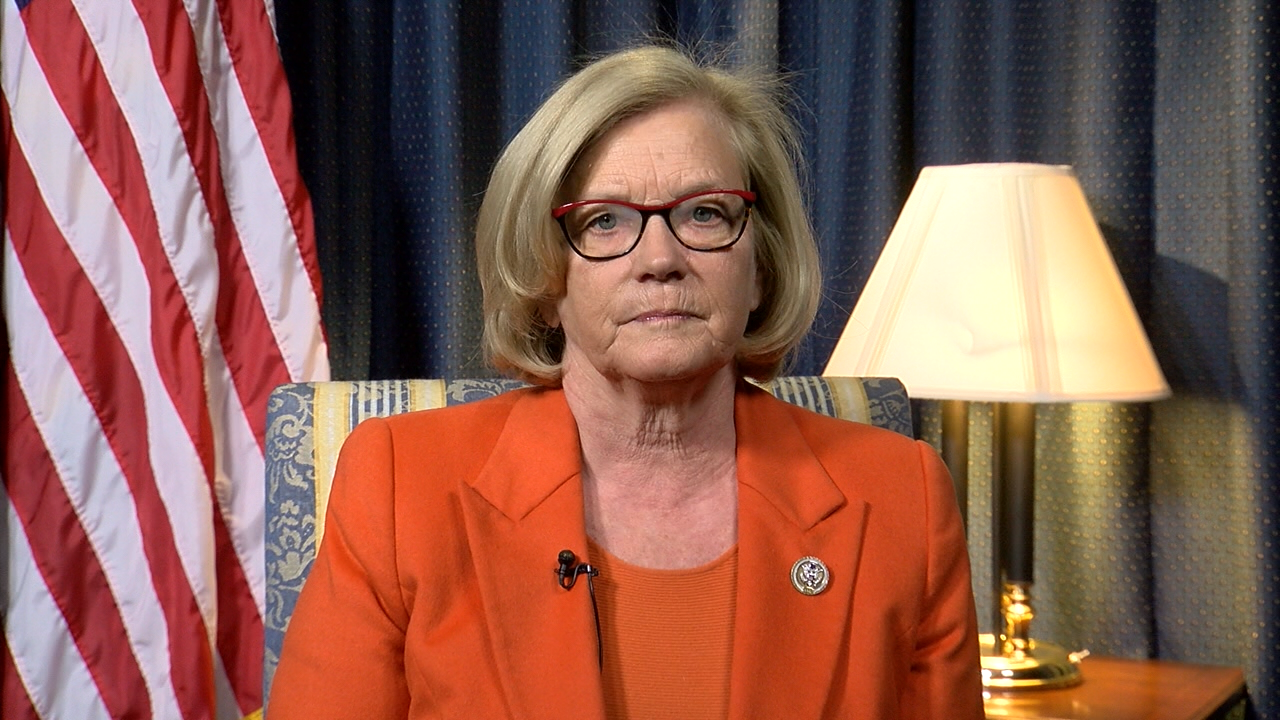 Rep. Chellie Pingree (D-ME) spoke to WGME from Capitol Hill on Feb. 1, 2017. (SBG)