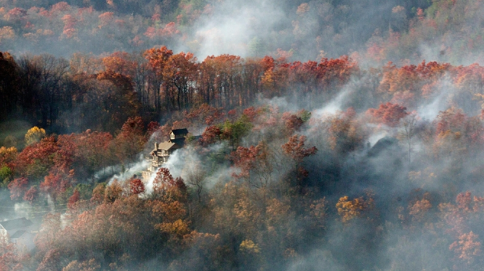 great smoky mountains national park reopens after deadly chimney