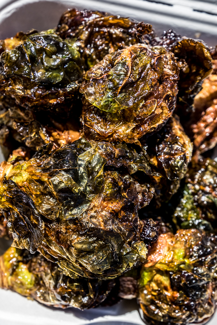 Crispy Brussels sprouts / Image: Catherine Viox // Published: 4.28.20