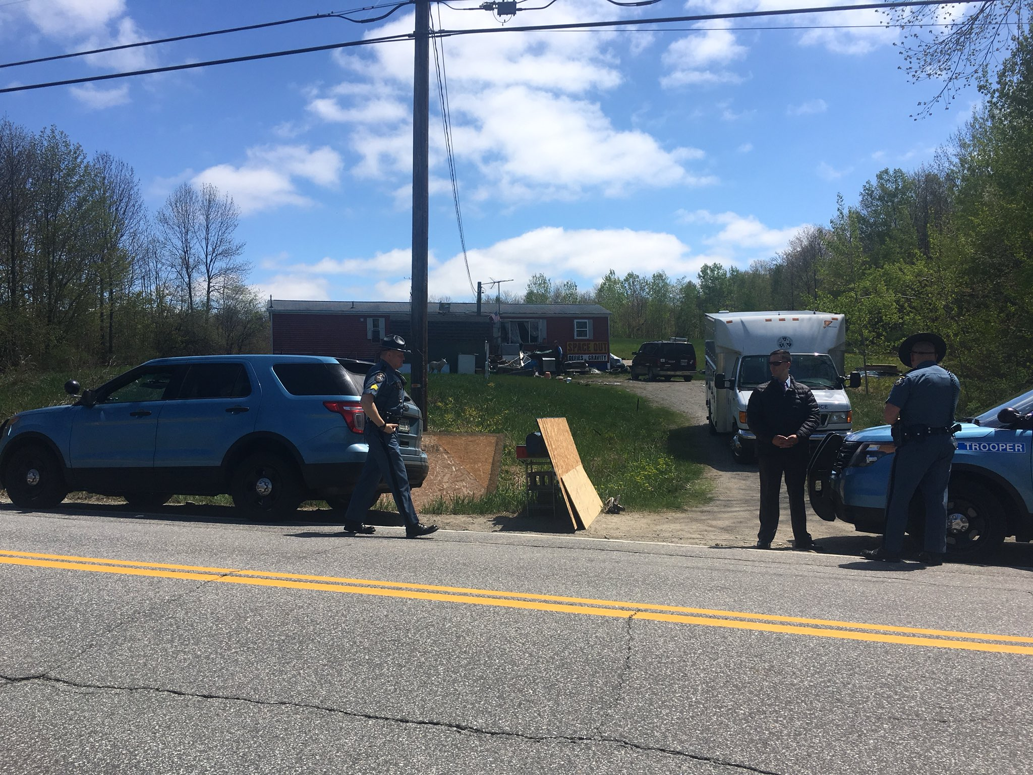 Maine State Police say there was an officer involved shooting on Rt. 132 in Wales early Monday morning. (WGME)