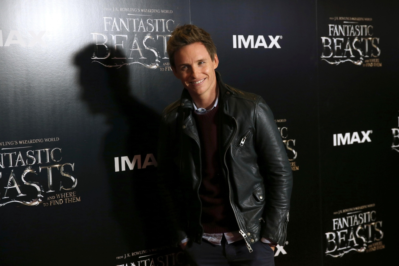 Actor Eddie Redmayne poses for photographers upon arrival at the global fan event of the film 'Fantastic Beasts And Where To Find Them', in London, Thursday, Oct. 13, 2016. (Photo by Joel Ryan/Invision/AP)