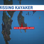 Coast Guard searching for possible missing kayaker