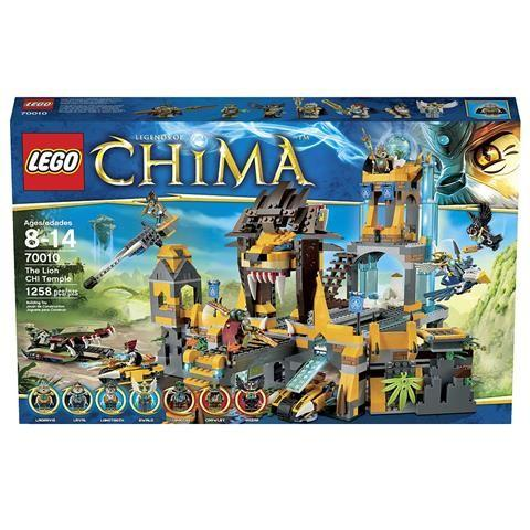 LEGO Legends of Chima The Lion CHI Temple (70010)Price: $98.99