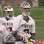 Victor boys lacrosse team nets 50th win in a row...barely...5-4
