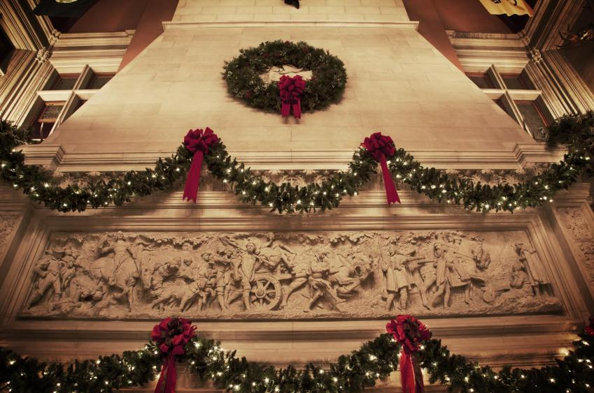 Decorations above the fireplaces in the Banquet Hall. (Photo Credit: The Biltmore Company)