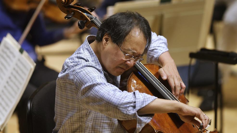 Cellist Yo-Yo Ma performs at the U S-Mexico border   WJAC