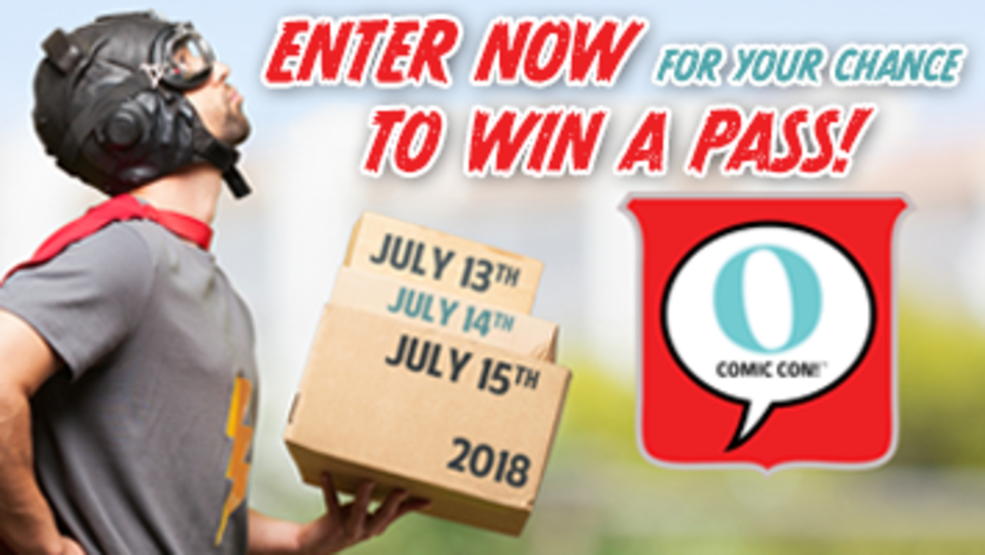 O Comic Con! Pass Giveaway
