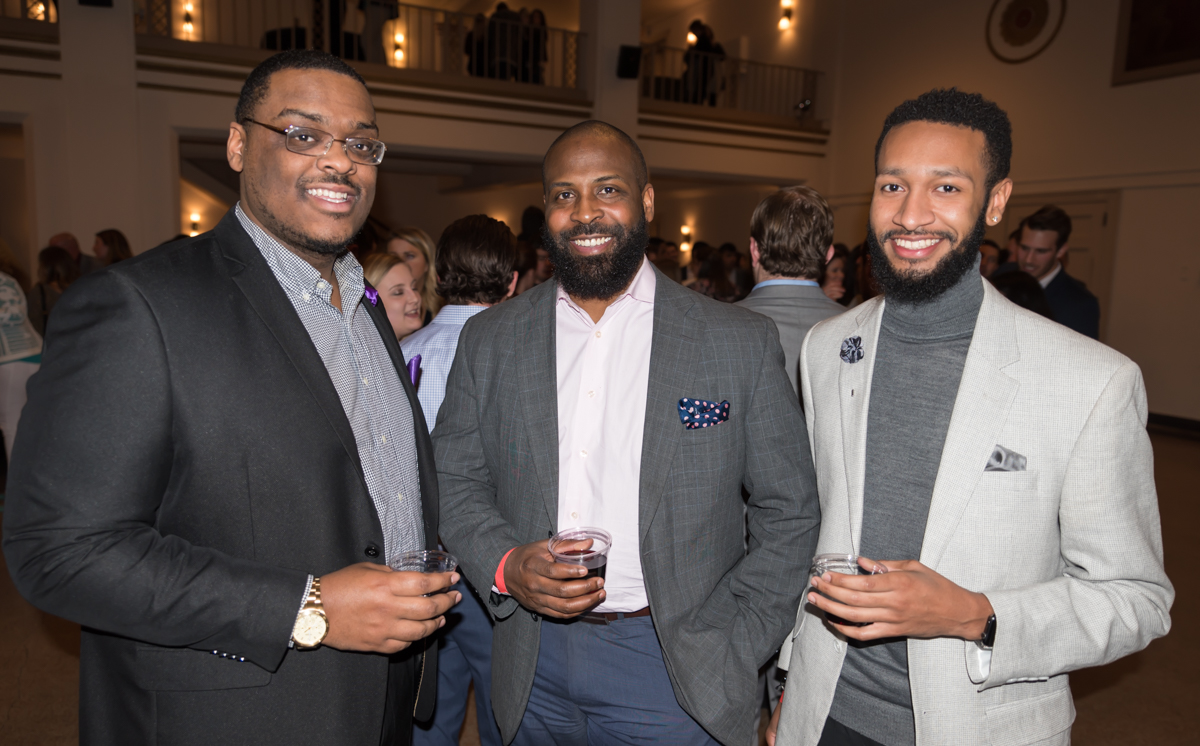 Calvin Davis, Bryen Pinkard, and Sennel Threlkeld / Image: Sherry Lachelle Photography // Published: 2.9.18<br><p></p>