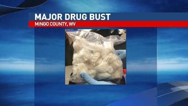 West Virginia State Police say 1.2 pounds of crack cocaine was found in a mobile home in Mingo County. (West Virginia State Police)