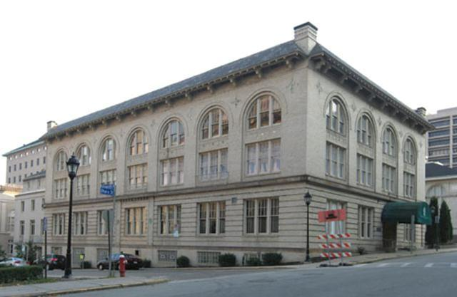 Formerly known as the Concordia Club, the University of Pittsburgh purchased the historic building on July 16, 2009 for $2.1 million. The first floor contains a large study space, meeting rooms, and a dining room with beautiful preserved oak panels.