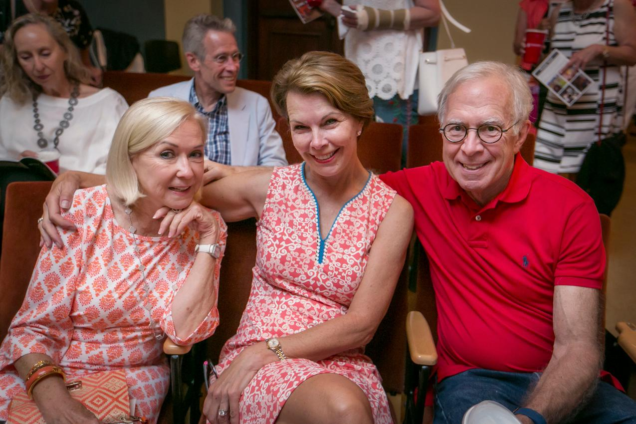 Vicki Herche, Leslie Huber, and Bill Wentworth{ }/ Image: Mike Bresnen Photography // Published: 6.17.18