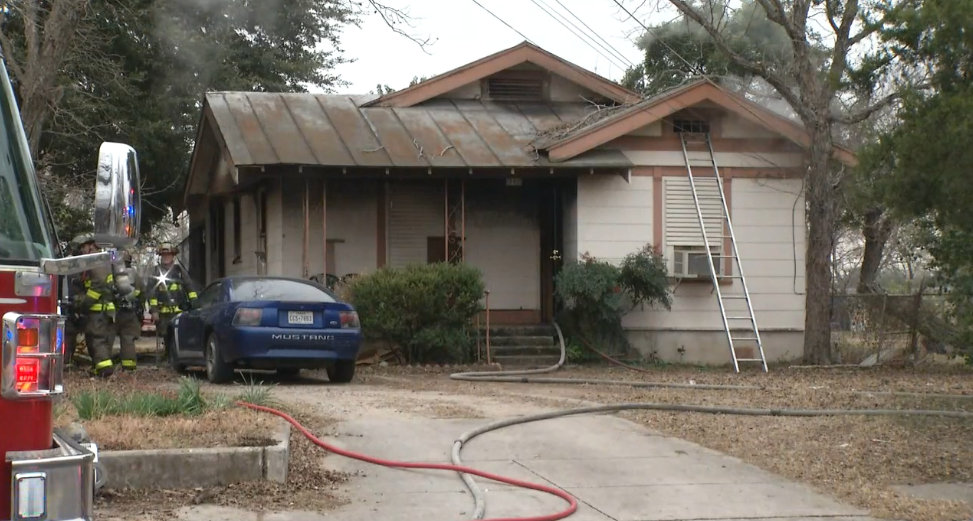 Four people homeless after fire tears through home on Rice Road (SBG San Antonio)