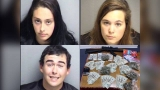 Police: Three arrested for distribution of marijuana