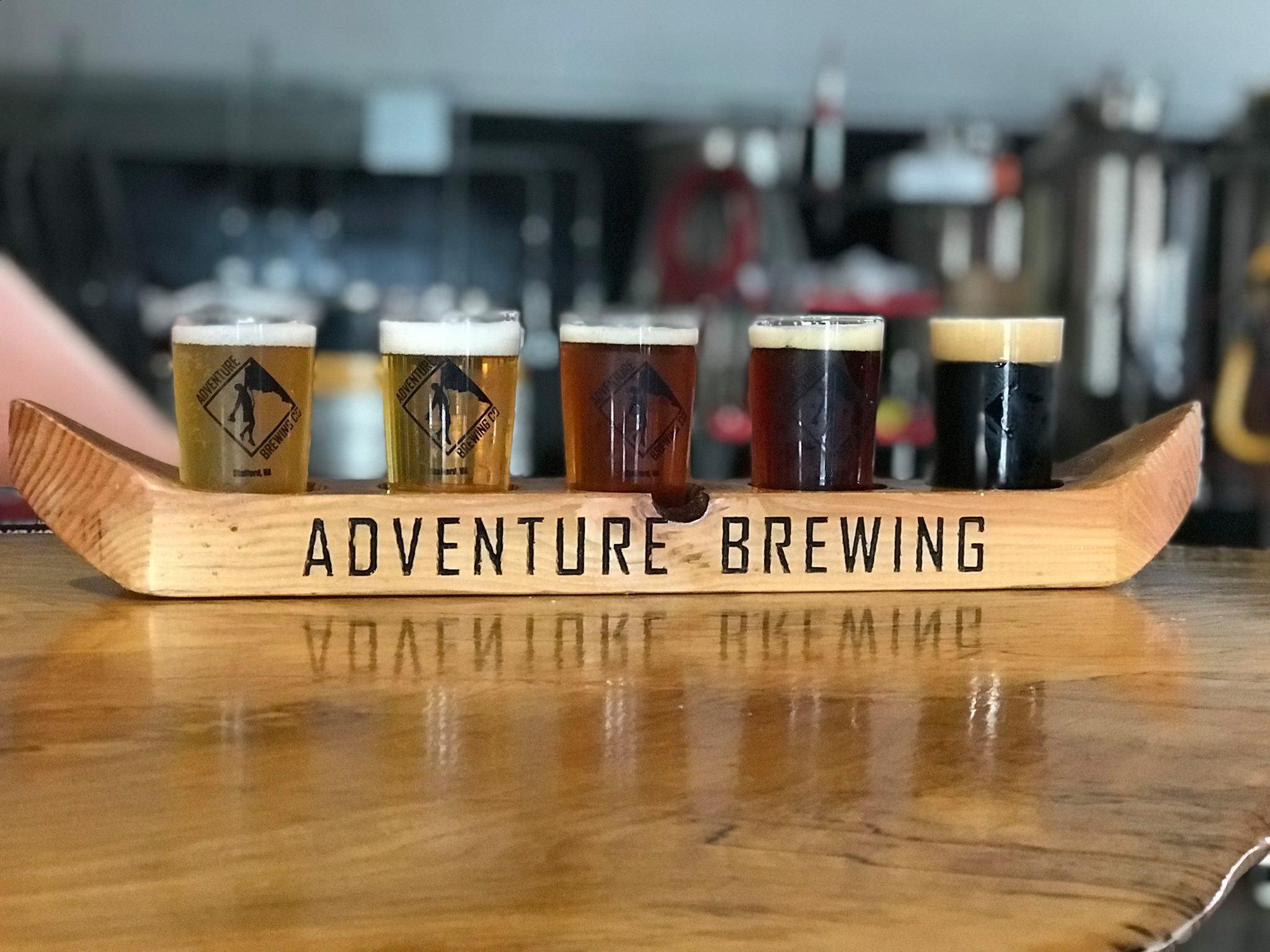 Year-round, seasonal and specialty beers are the name of the game at this Fredericksburg craft operation, which releases new offerings just about every week.{ } (Image: Courtesy Adventure Brewing)