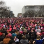 Women's March on Washington: Hundreds of thousands demonstrate on National Mall