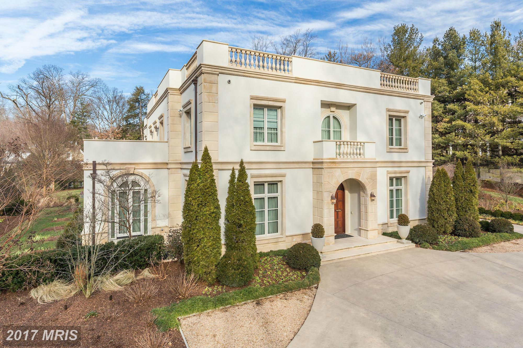 List price: $12,585,000 // Closing price:{&amp;nbsp;}$12,585,000 // 9 bedrooms, 14 bathrooms // Built in 2001// Neighborhood: Cleveland Park // Listing agent: Nelson Marban of Washington Fine Properties // Selling agent: Nancy Taylor Bubes of Washington Fine Properties (Image: Courtesy Bright MLS)<br><p></p>