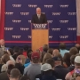 Gov. Mike Pence campaigns in Fort Dodge