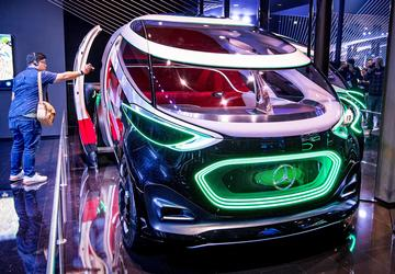 Climate change, trade woes reshape Frankfurt auto show