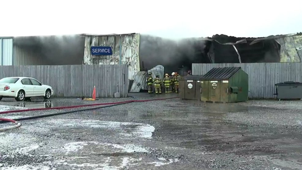 Franklin Ford Nc >> Sbi Investigating After Massive Fire At Franklin Ford Wlos