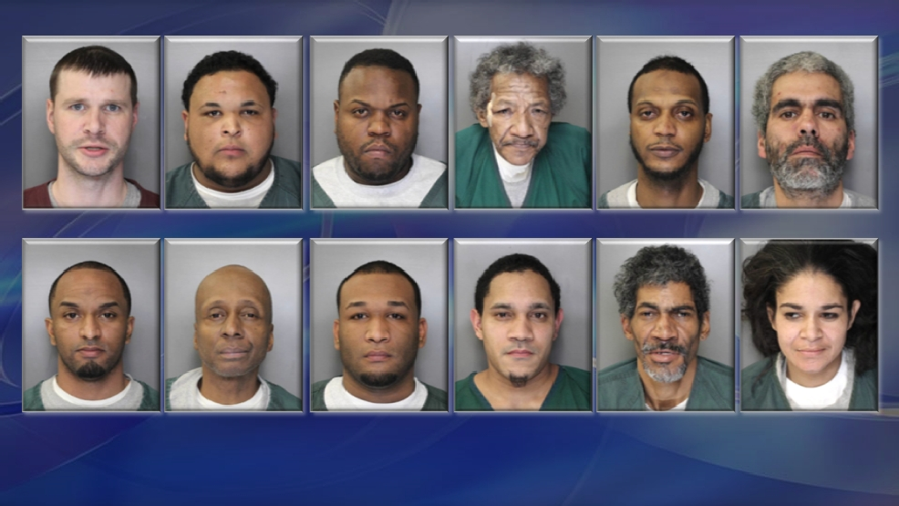 15 arrested in massive drug bust, drugs sold linked to two
