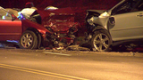 Head-on collision shuts down part of Colerain Avenue